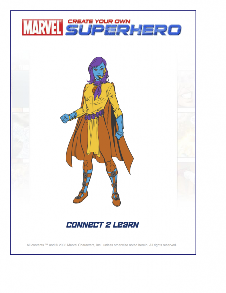 connect2learnsresuperhero