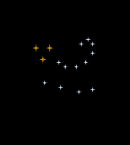 constellationThreeBrownDots