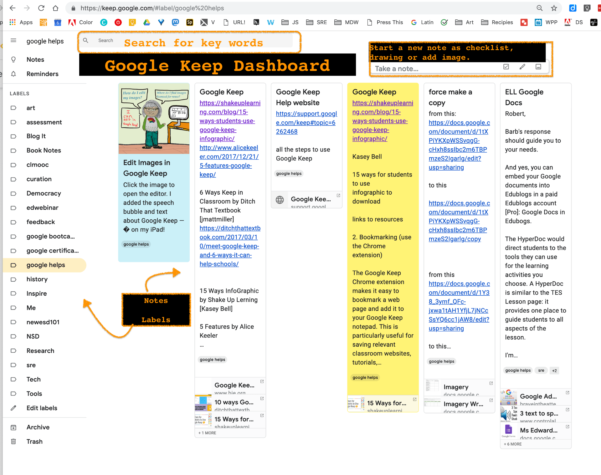 Curation Part 6 Google Keep | What Else